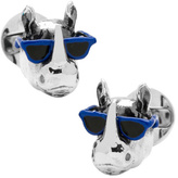 Cufflinks Inc. Men's Party Animal Rhino Cufflinks