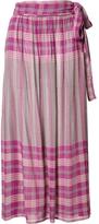 Apiece Apart Midi Wrap Skirt