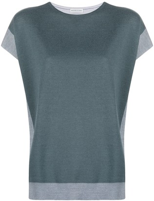 Maison Ullens Contrast-Edge Knitted Top