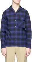 Nanamica Check plaid flannel shirt jacket