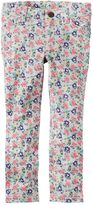 Carter's Toddler Girl Floral French Terry Jeggings