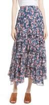 Rebecca Taylor Women's Tea Rose Ruffle Jacquard Skirt