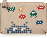 Anya Hindmarch Space Invaders leather purse