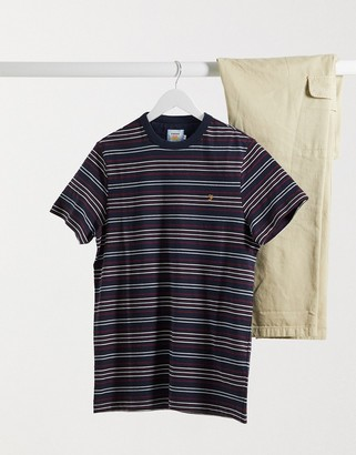 Farah Rosedale striped T-shirt