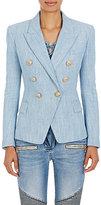 Balmain Women's Cotton-Blend Double-Breasted Blazer