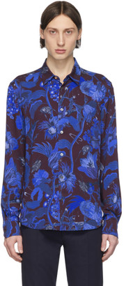 Paul Smith and Burgundy Floral Goliath Shirt