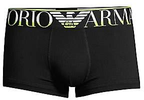 Emporio Armani Men's Mega Logo Trunk Briefs