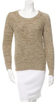 Belstaff Open Knit Crew Neck Sweater w/ Tags