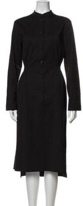 Ter Et Bantine Virgin Wool Midi Length Dress Wool