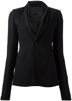 Rick Owens one-button blazer