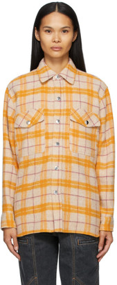 Etoile Isabel Marant Yellow Faxonli Jacket