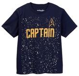 Mighty Fine Star Trek Enterprise Captain Tee (Big Boys)