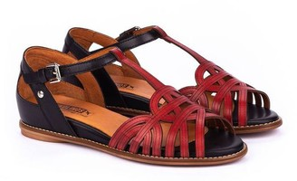 PIKOLINOS Leather Ankle Strap Sandals - Talavera