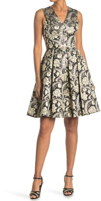 Ted Baker Jami Paisley Jacquard Dress