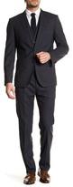 HUGO BOSS Hattrick/Final Two Button Notch Lapel Trim Fit Wool 3-Piece Suit