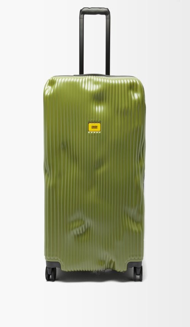CRASH BAGGAGE Stripe 79cm Suitcase - Khaki