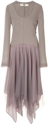 Marc Le Bihan Asymmetric Tulle Dress