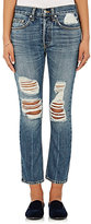 Brock Collection Women's Charlie Distressed Crop Jeans