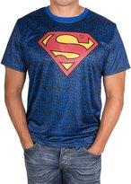 Superman Men's Performance Quick Dry T-Shirt, Navy