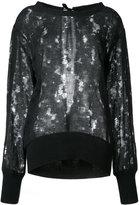 Ann Demeulemeester Silkwood blouse