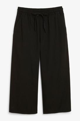 Monki Denim culottes