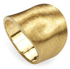 Marco Bicego 18K Yellow Gold Engraved Lunaria Ring