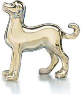 Baccarat Zodiac Crystal Dog Figurine, Gold
