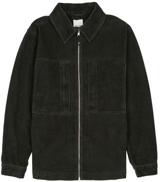 Wood Wood Gale dark green corduroy jacket