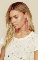 Vanessa Mooney astrid knotted tassel earrings