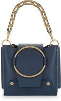Yuzefi Navy Mini Delila Bucket Bag