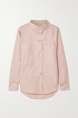 Etoile Isabel Marant Mahonia Cotton-poplin Shirt - Pink