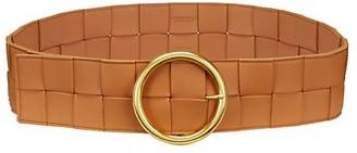 Bottega Veneta Intrecciato Leather Wide Belt