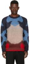 Oamc Multicolor Mohair Moth Sweater