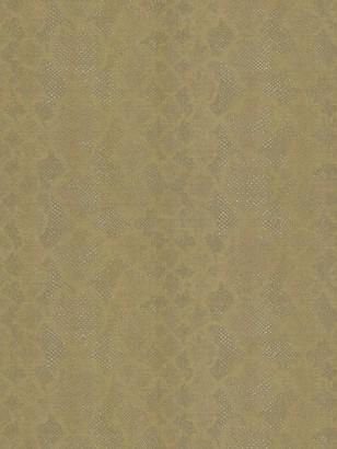 Roberto Cavalli Embossed Snakeskin Print Wallpaper