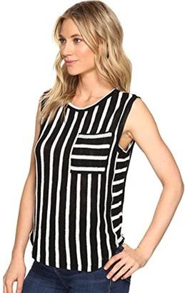 Splendid Women's Stripe Loose Knit Tank