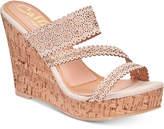 Callisto Sofiya Platform Wedge Sandals Women's Shoes
