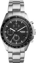 Fossil Sport 54 Chronograph Watch Silberfarben