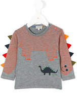 Paul Smith dinosaur print top - kids - Cotton/Polyester - 18 mth