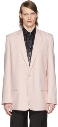 Tibi SSENSE Exclusive Pink Long Blazer