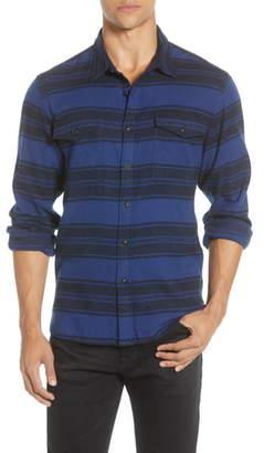 Madewell Blanket Stripe Brushed Twill Shirt