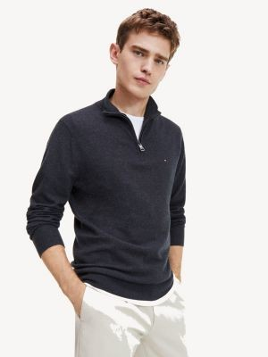 Tommy Hilfiger Soft Wool Half-Zip Jumper