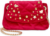 Betsey Johnson Quilted Small Crossbody with Chain Strap