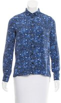 Proenza Schouler Printed Button-Up Top