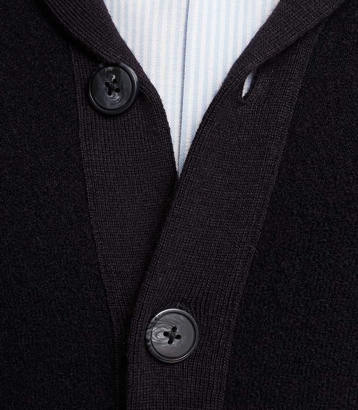 Reiss Millside Shawl Collar Cardigan