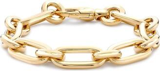 Pragnell 18kt yellow gold Havana chain bracelet