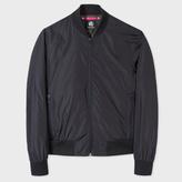 Paul Smith Men's Black Lightweight Showerproof Bomber Jacket