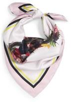 Givenchy Floral Star Print Silk Scarf