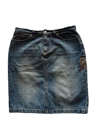 Burberry Blue Denim - Jeans Skirt for Women Vintage