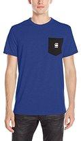 G Star Men's Yarek Short Sleeve Contrast Pocket T-Shirt