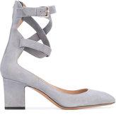 Valentino Garavani Valentino pumps - women - Leather/Suede - 35